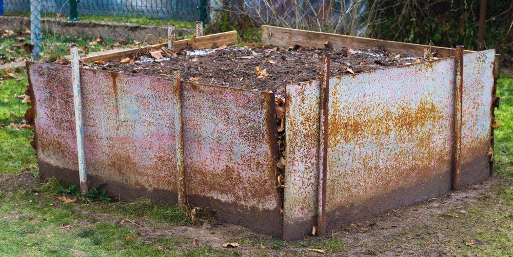Kompostér z plechov
