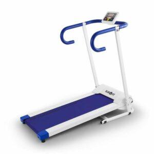 Pacemaker X1, bežecký pás, 10 km/h, tréningový počítač, bielo-modrý
