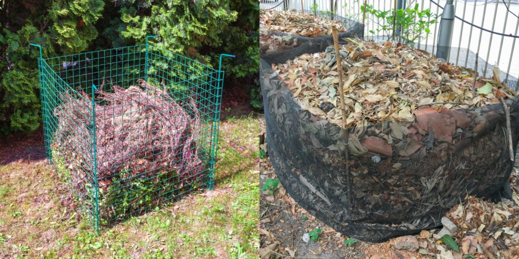 Pletivové kompostéry