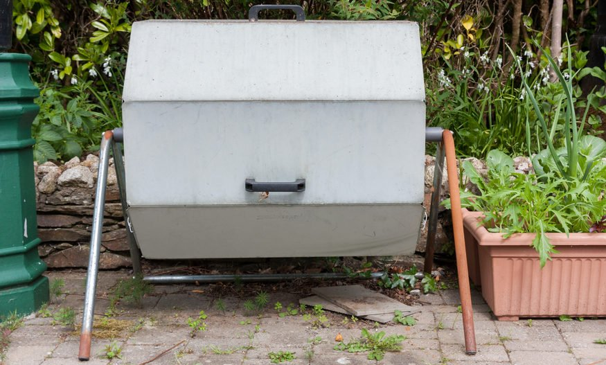 Rotačný kompostér
