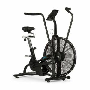 Strike Bike, domáci trenažér, kardio, ventilačný odpor, BT, čierny