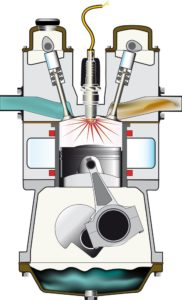 Štvortaktný motor