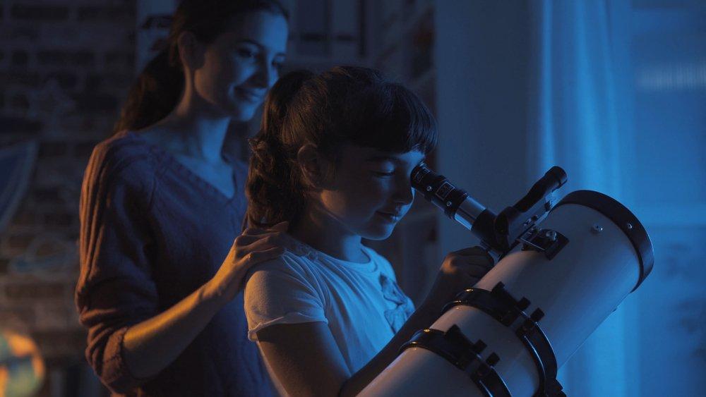 hvezdársky ďalekohľad pre deti