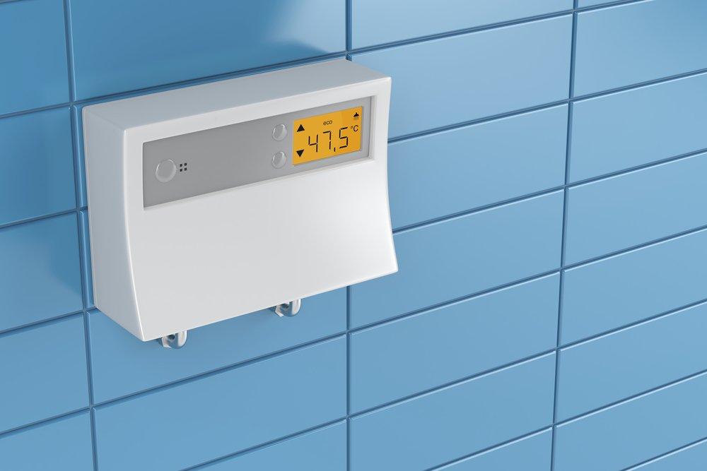 Elektronický prietokový ohrievač vody