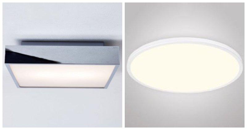 Stropné svetlá v modernom štýle