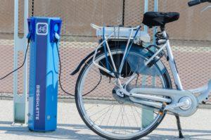 Nabíjacia stanica e-bicykla