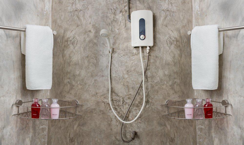 Prietokové ohrievače vody v kúpeľni