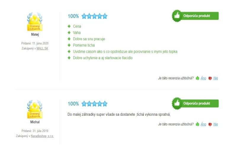 Recenzie zákazníkov na kosačku GARDENA PowerMax 1200/32