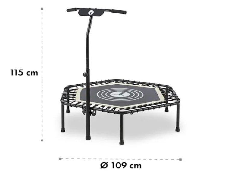 Celkové rozmery fitness trampolíny