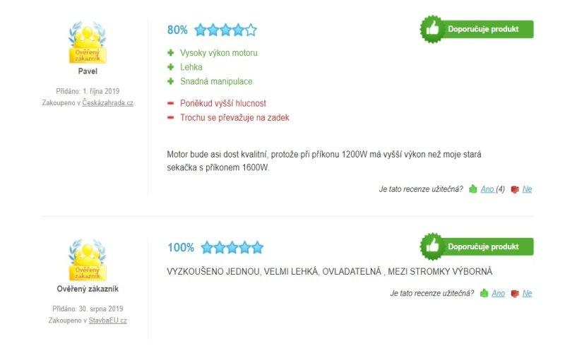 Skúsenosti užívateľov s kosačkou GARDENA PowerMax 1200/32