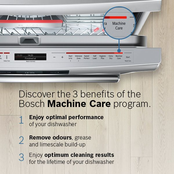 Machine Care Bosch