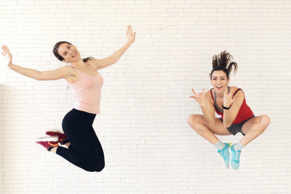 Skákanie na trampolíne= zdravie a vitalita