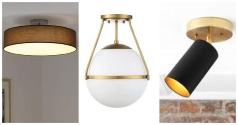 Typy stropných svetiel