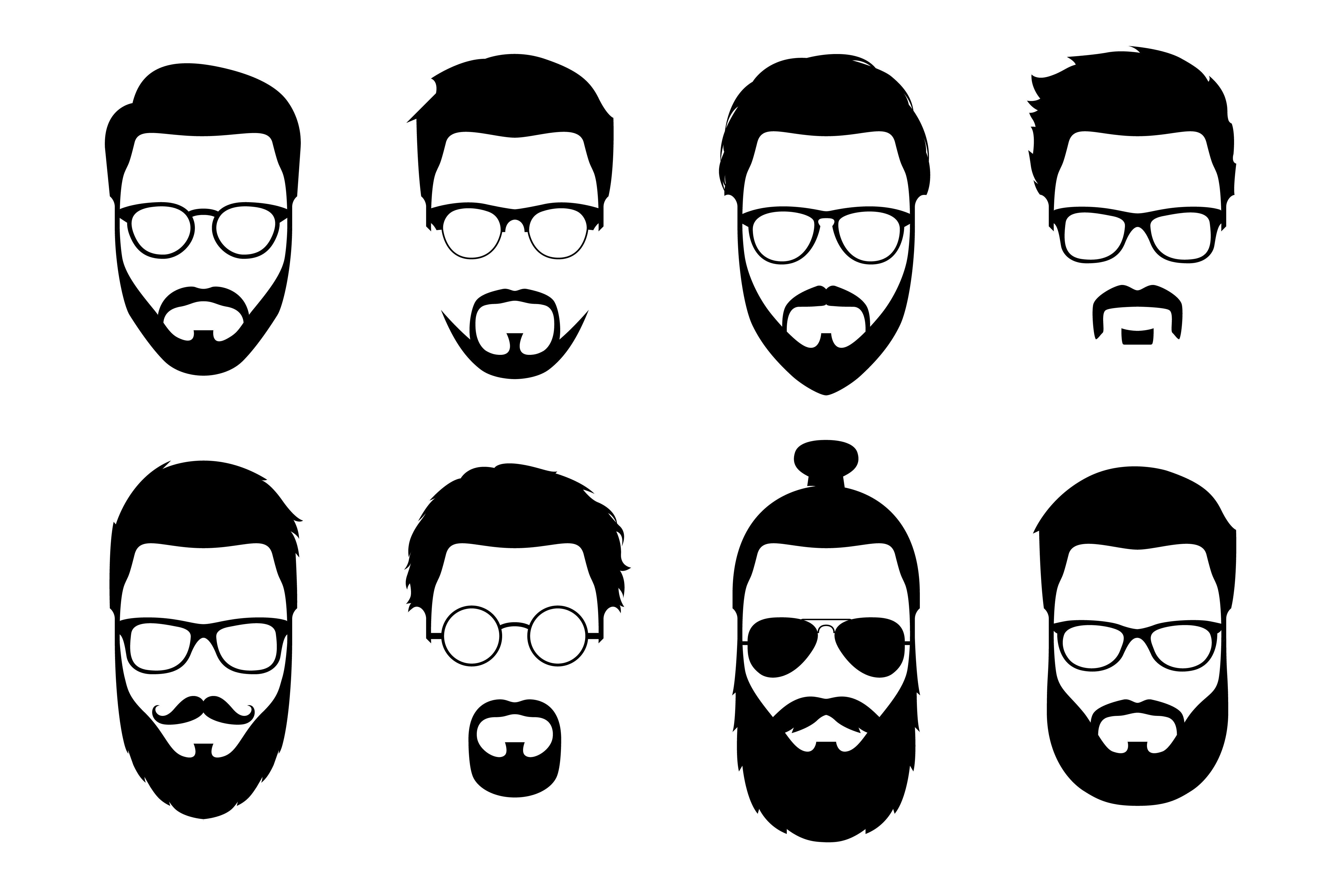 Rôzne štýly zastrihnutia brady