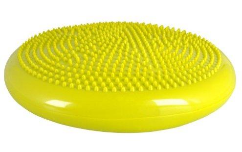 Celogumová balančná podložka žltá inSPORTline-Bumy-BC100