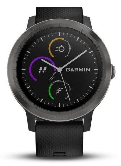 fitness inteligentné hodinky Garmin vívoActive 3 v čiernom prevedení