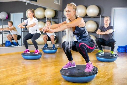 Balančná podložka na cvičenie