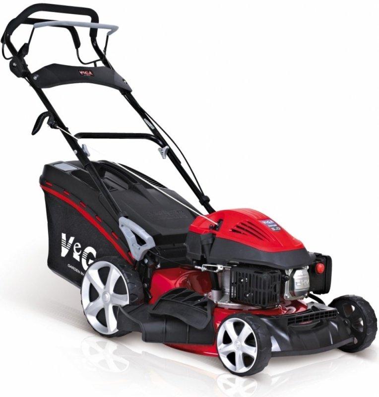 Červeno-čierna benzínová kosačka VeGA 46 HWXV 6in1