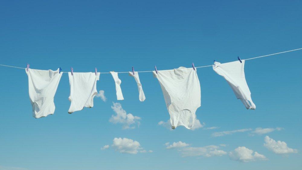 Život bez sušičky prádla