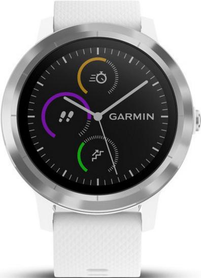 fitness inteligentné hodinky Garmin vívoActive 3 v bielom prevedení