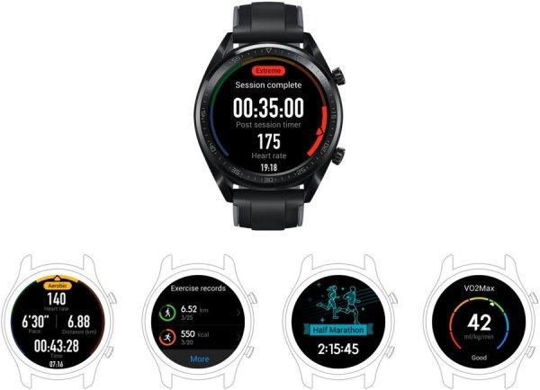 Hodinky Huawei Watch GT ako váš osobný tréner