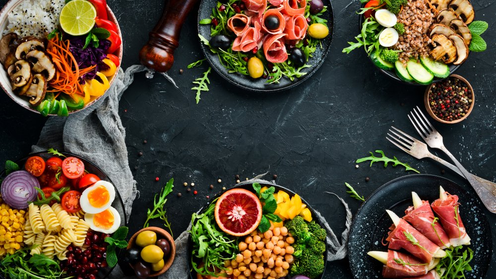 Mix zdravých potravín