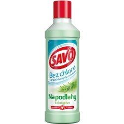 Savo Bez chloru na podlahy Eukalyptus 1 l