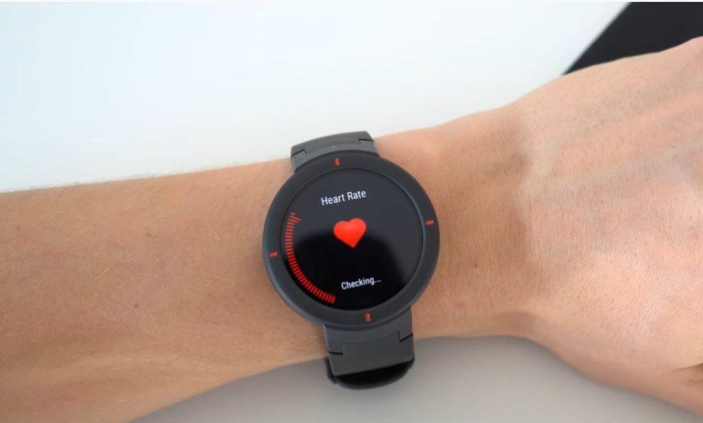 Snímač srdcovej frekvencie Amazfit Verge