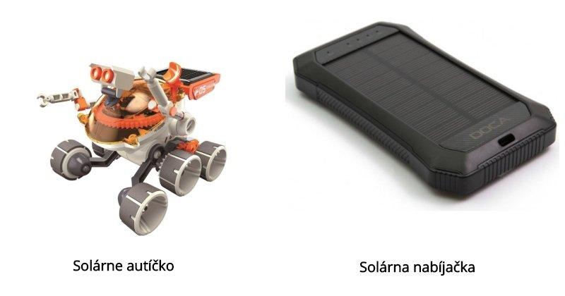 Solárne autíčko a solárna nabíjačka