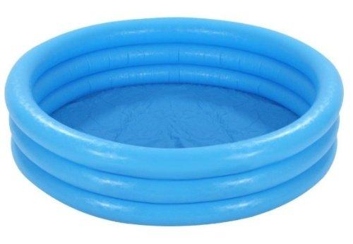 Malý modrý nafukovací detský bazén