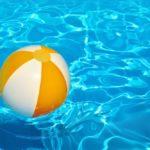 Priezračná voda v bazéne
