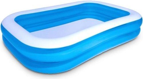 Rodinný nafukovací bazén modrý