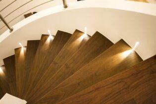 Bodové svetlá na schody