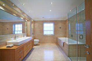Bodové svetlá v kúpeľni