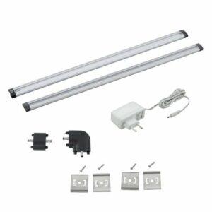 Eglo 94694 – SADA 2x LED Podlinkové osvetlenie VENDRES 2xLED/5W/230V