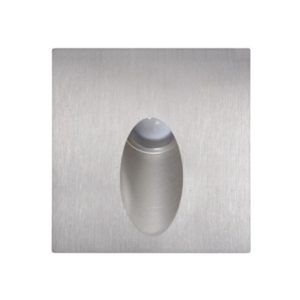 LED Schodiskové svietidlo ESPO LED/3W/230V IP54 matný chróm