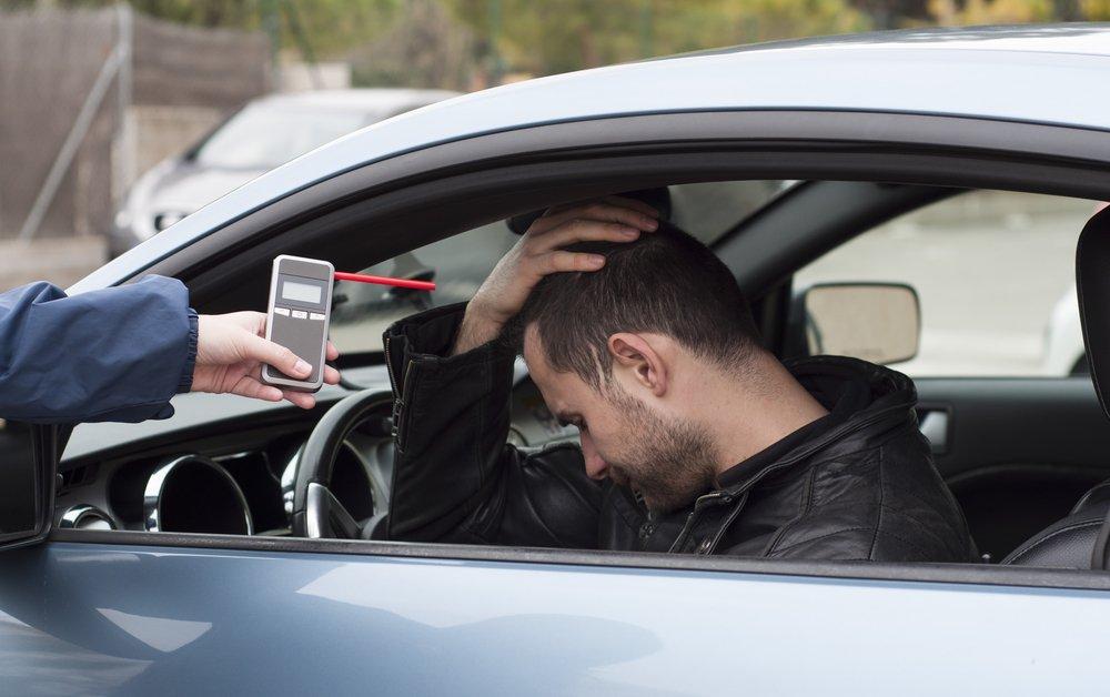 alkohol tester - meranie za volantom