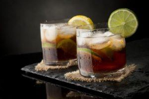 Osviežujúci nápoj Cuba libre