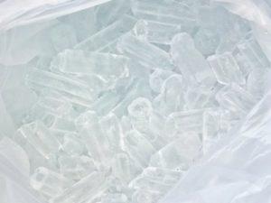 Ľad v tvare kužeľa