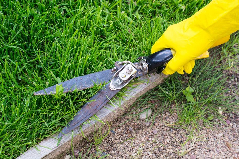 Ručné nožnice na trávu