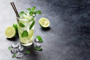 Osviežujúci nápoj Mojito