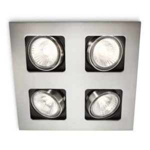 Philips 59304/17/16 – Kúpeľňové podhľadové svietidlo MYLIVING ACAMAR 4xGU10/35W/230V