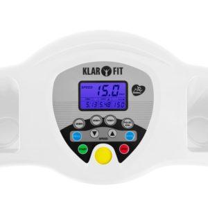 displej Klarfit Pacemaker X3 - elektrický bežecký pás