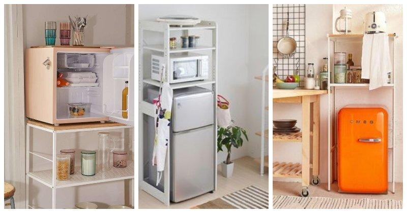 Malé chladničky rôznych rozmerov pre akýkoľvek priestor