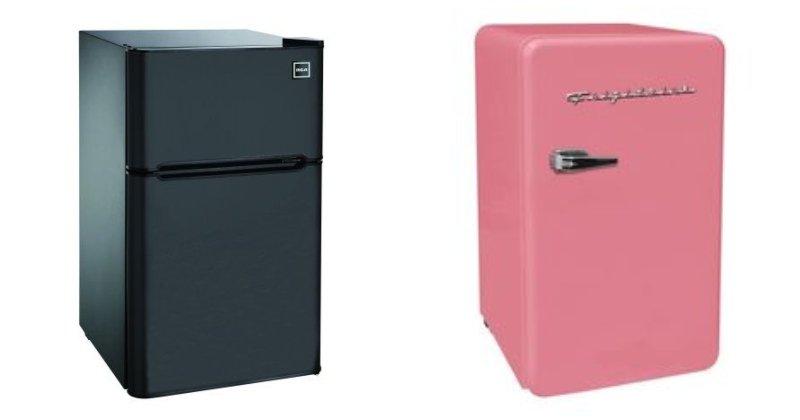 Moderná a retro chladnička