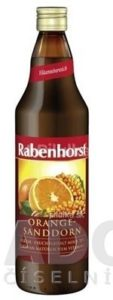 Rabenhorst Pomarančovo-rakytníkový nektár 1×750 ml