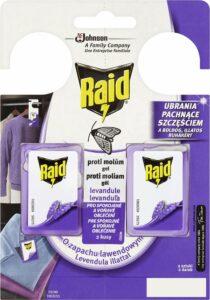 RAID proti moliam Levanduľa 2 ks – Odpudzovač hmyzu | Alza.sk