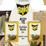 RAID proti moliam s vôňou cédra 2 ks - Odpudzovač hmyzu | Alza.sk