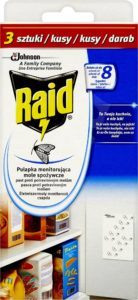 RAID proti potravinovým moliam 3 ks – Odpudzovač hmyzu | Alza.sk