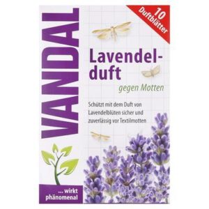 VANDAL levanduľová vôňa proti moliam 10 ks